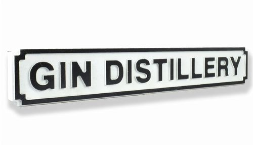 Gin Distilary New Shape Clean White